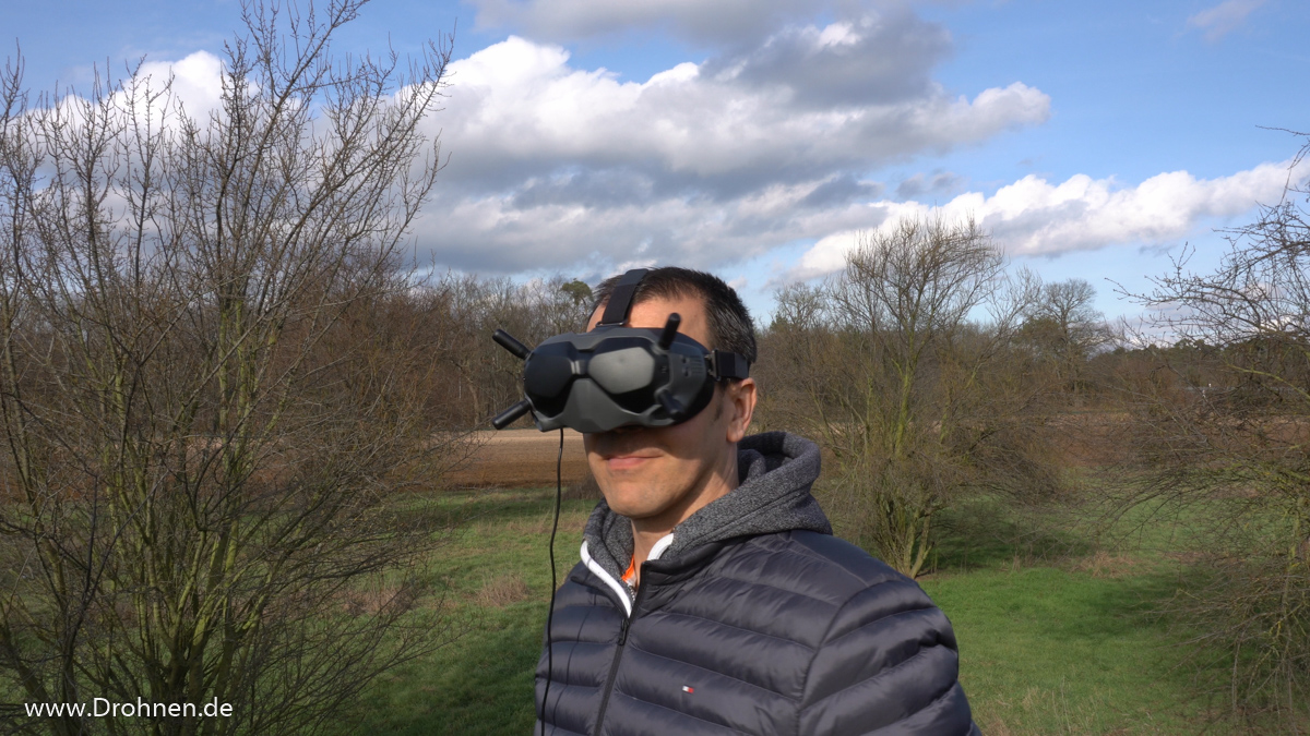 DJI FPV Goggles V2 Tragekomfort