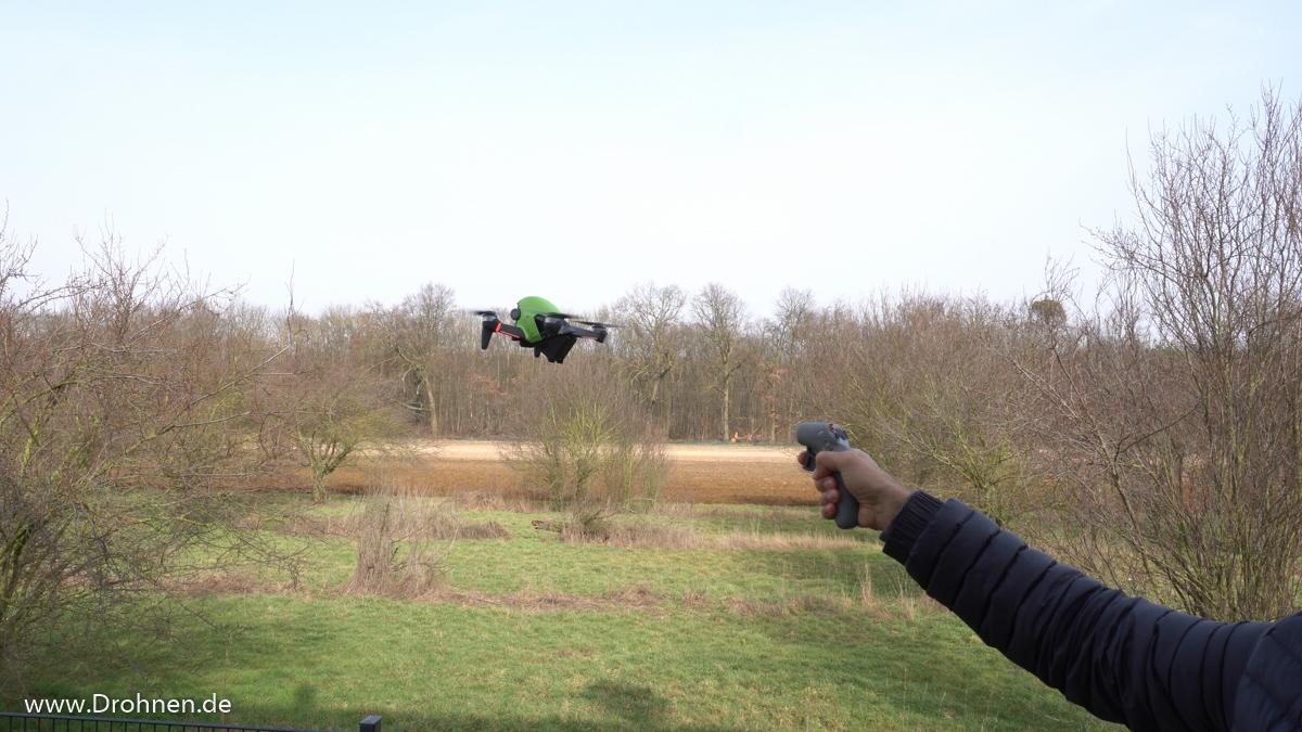 DJI Motion Controller FPV fliegen