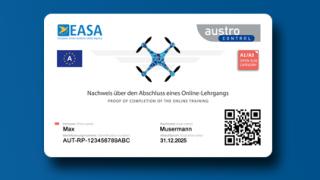 Drohnenführerschein Karte_Österreich