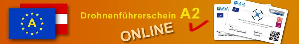 Österreich Drohnenführerschein a2 EU Fernpilotenzeugnis online