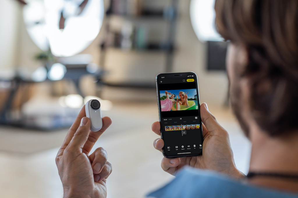 Insta360 Go 2 Smartphone Editor