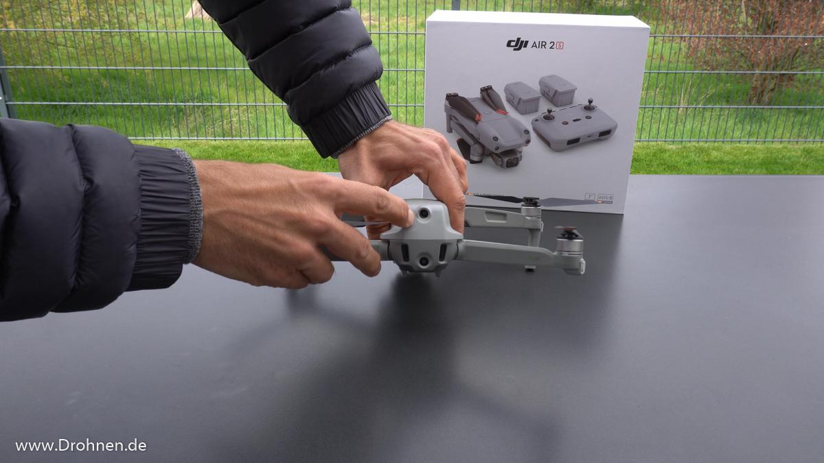 Drohne Crash Rettung Baum - DJI Mavic AIR 2S