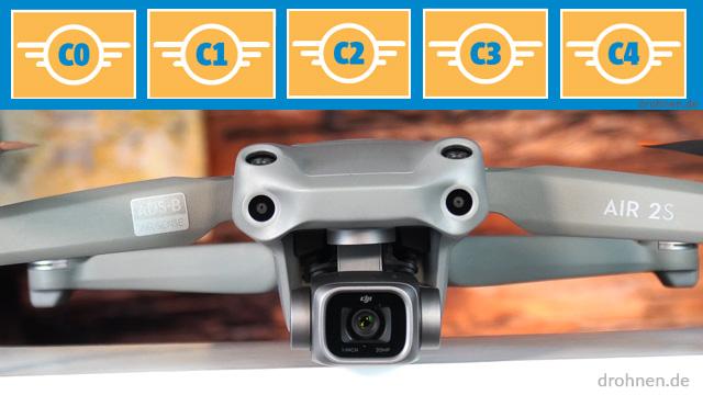DJI AIR 2S Drohnen-Klasse Zertifizierung EU Drohnenverordnung