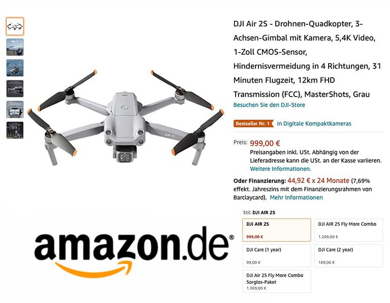DJI Air 2S bei Amazon kaufen