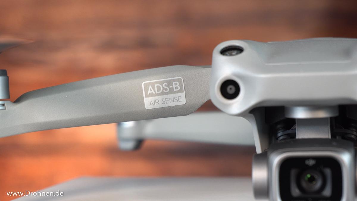 Die DJI Air 2S mit ADS-B (AirSense)