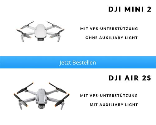 VPS DJI Mini 2 vs. DJI Air 2S