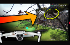 dji mavic air 2s drohne drone crash flyaway unfall activetrack