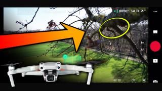dji mavic air 2s drohne drone crash flyaway unfall activetrack