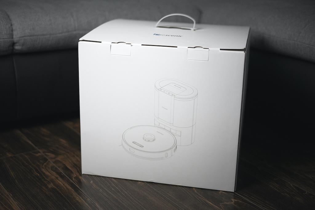 Verpackung Proscenic M8 Pro Saugroboter
