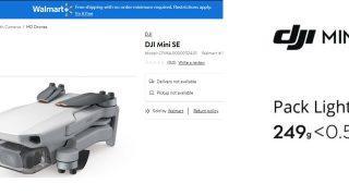 DJI MINI SE - Neue Drohne
