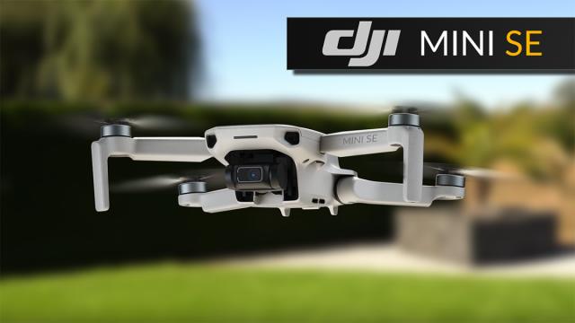 DJI MINI SE - günstige Drohne für Anfänger