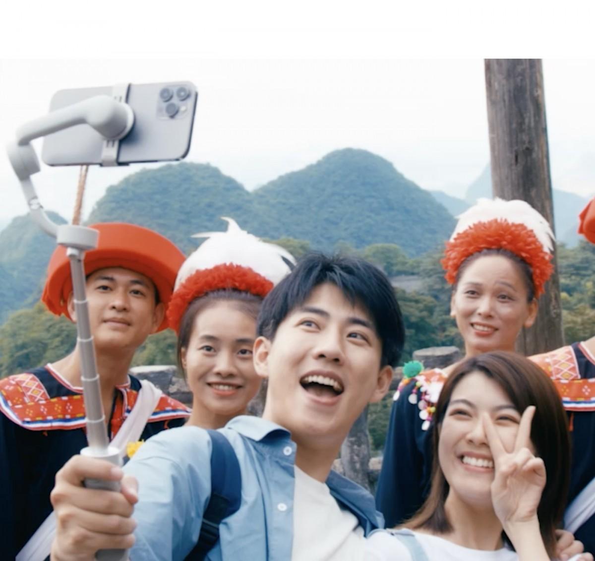 DJI OM5 für Selfies und Gruppenaufnahmen