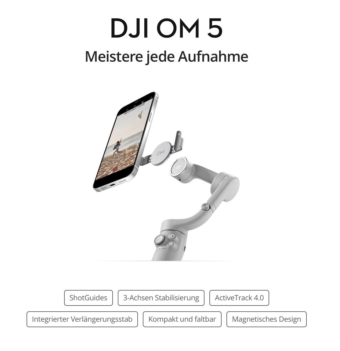 DJI OM5 (2021).