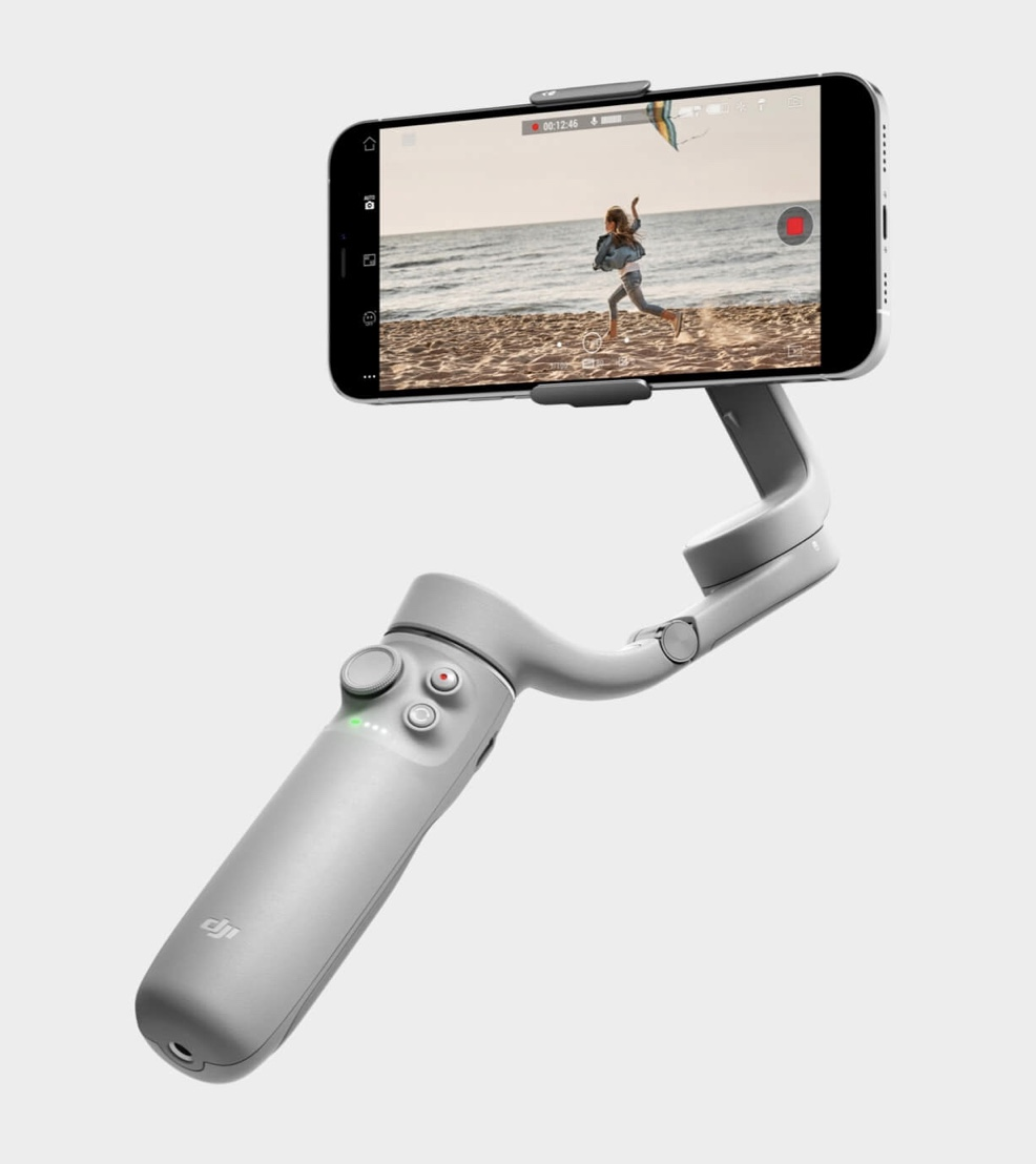 DJI OM5 Smartphone Stabilisator mit Selfie-Stick