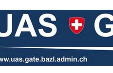 Drohne Registrierung Schweiz BAZL UAS Gate EU Drohnenverordnung